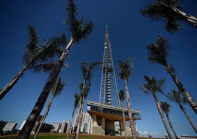 The TV tower in Brasilia