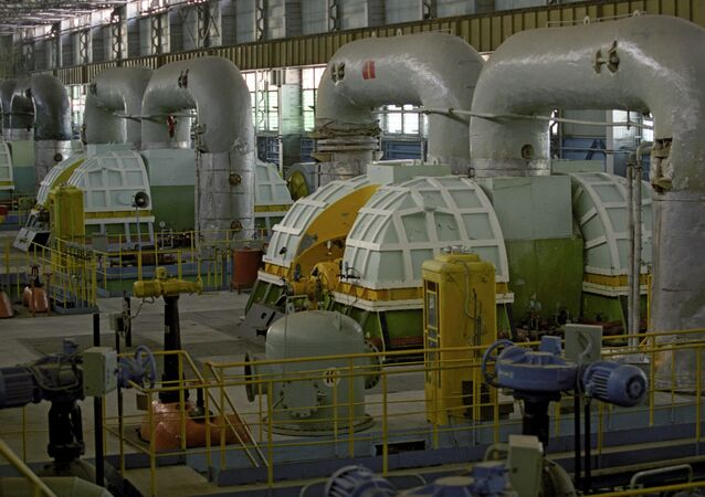 Turbine house of Nuclear Power Plant-2