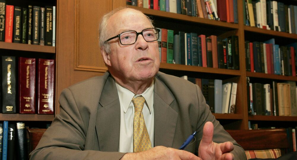 Former United Nations Chief Weapons Inspector Hans Blix