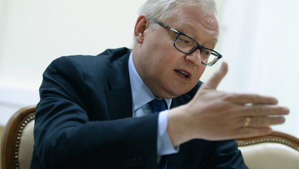 Russian Deputy Foreign Minister Sergei Ryabkov gives interview - Sputnik International