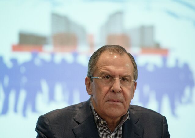 Foreign Minister Sergey Lavrov attends Russian Foreign and Defense Policy Council Assembly Meeting