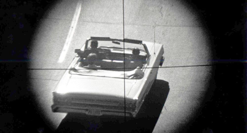This re-enactment of the assassination of President John F. Kennedy