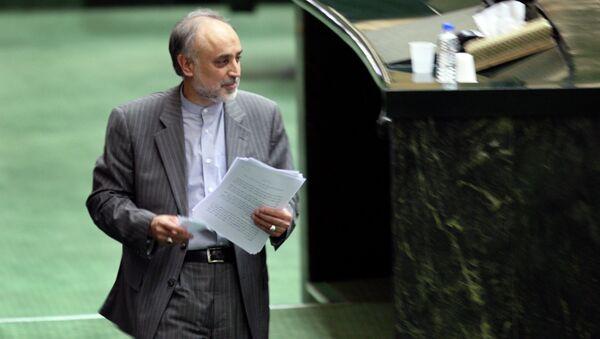 Head of Iran's Atomic Energy Organization, Ali Akbar Salehi. - Sputnik International