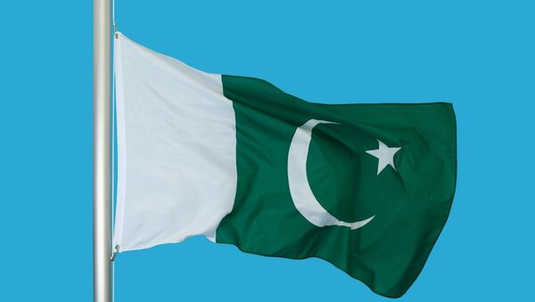Flag of the Islamic Republic of Pakistan - Sputnik International