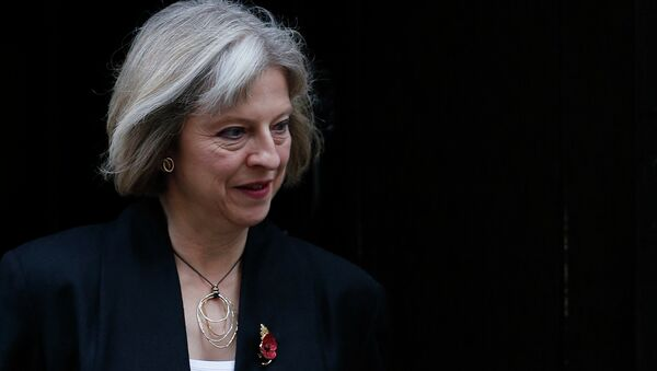 Britain's Home Secretary Theresa May leaves a cabinet meeting at 10 Downing Street in central London - Sputnik International