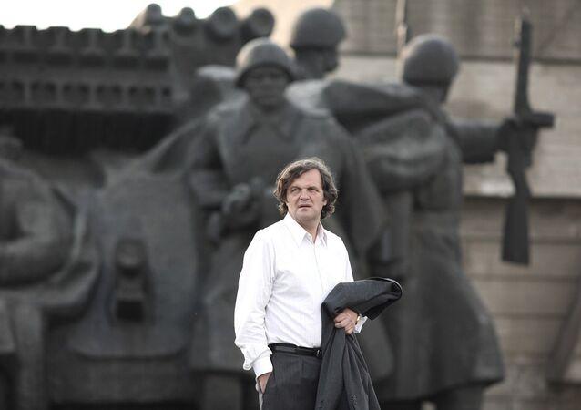 Film director Emir Kusturica.Farewell Business. 2009