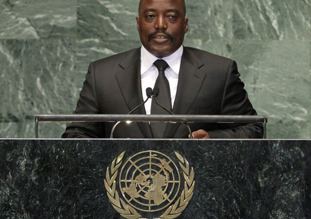 Congo's President Joseph Kabila Kabange addresses the 67th session of the United Nations General Assembly at U.N. headquarters