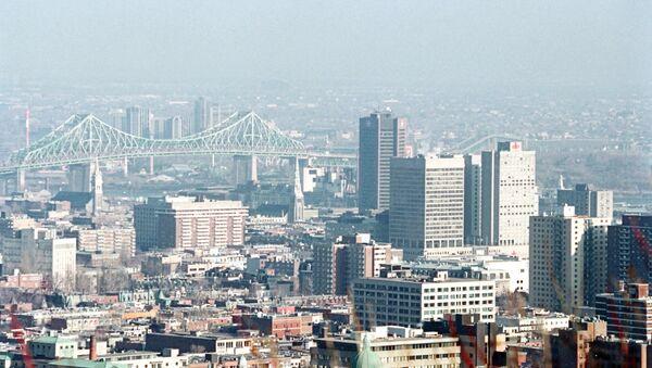 Panoramic view of Montreal, Canada - Sputnik International