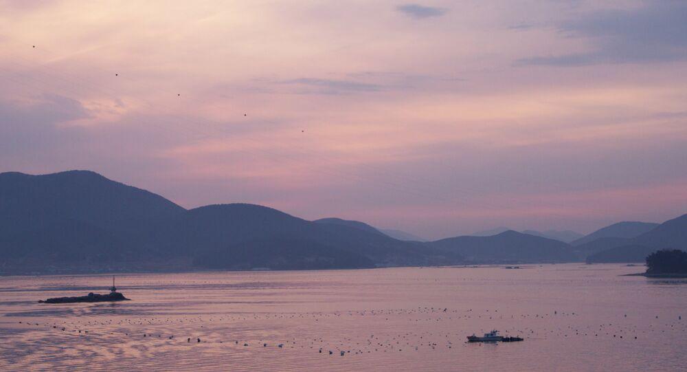 Islands near the coast of South Korea