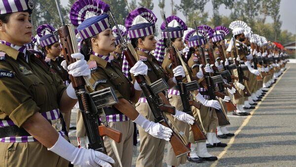 Jammu and Kashmir policewomen - Sputnik International