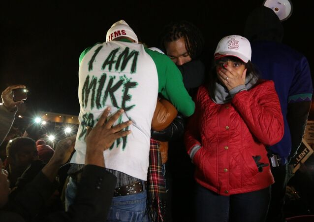 The family of Michael Brown