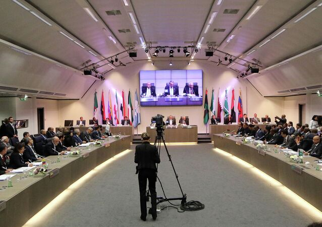 General view of a meeting of oil ministers of the Organization of the Petroleum Exporting countries, OPEC, at their headquarters in Vienna, Austria, Wednesday, June 11, 2014 (File)
