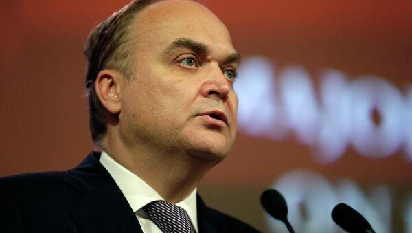 Russia's Deputy Minister of Defense Anatoly Antonov - Sputnik International