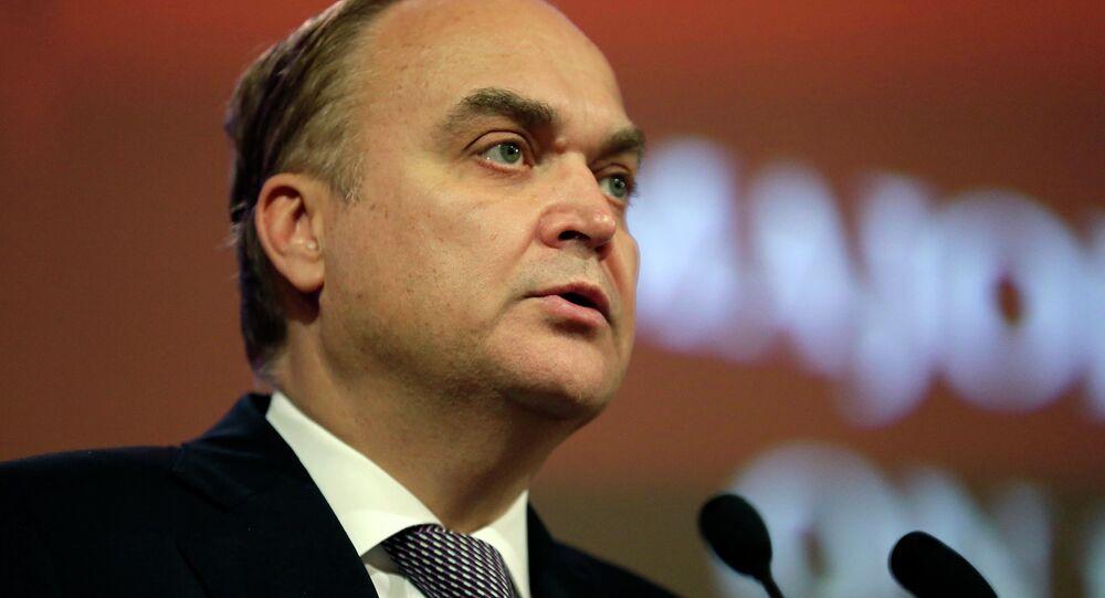 Russia's Deputy Minister of Defense Anatoly Antonov