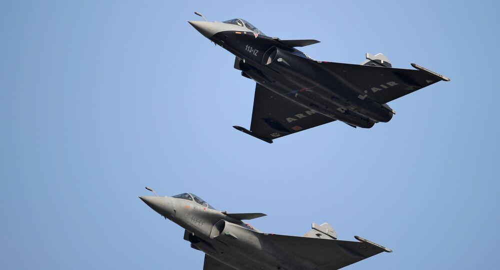 France's Rafale fighter jets