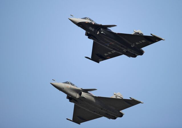 Rafale fighter jet aircraft, manufactured by Dassault Aviation SA.