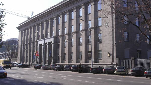 Photo of Ministry of Foreign Affairs of the Republic of Lithuania in Vilnius - Sputnik International