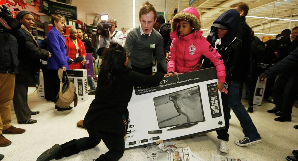 Black Friday Fights In Us Shopping Malls Becoming Thing Of Past Analysts Sputnik International
