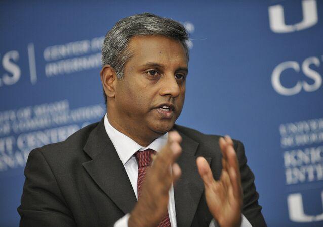 Amnesty International's Secretary General Salil Shetty