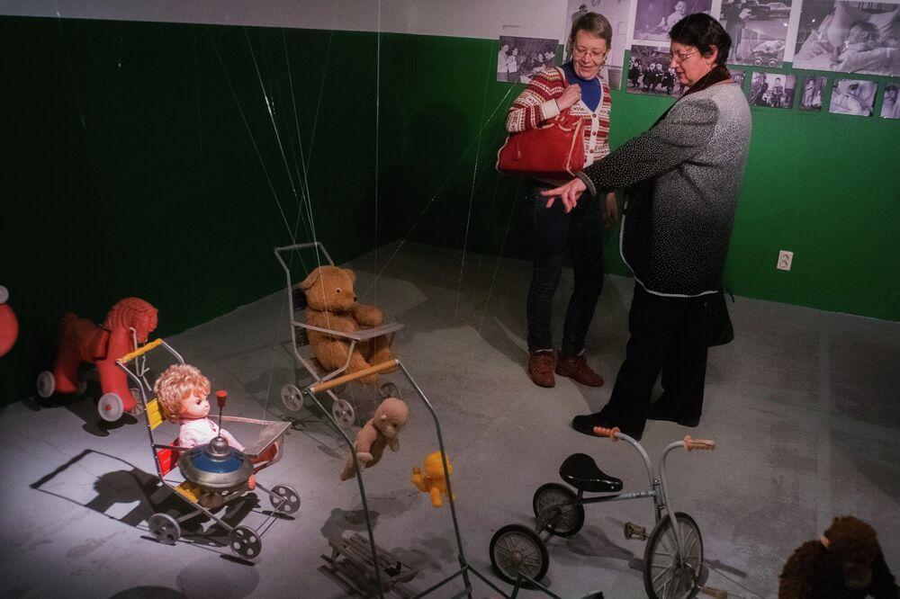 Soviet childhood exhibition