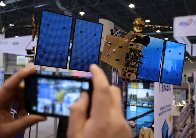 A model of the GLONASS-K satellite
