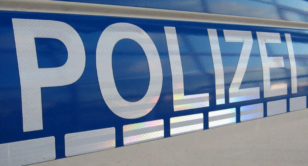 Schriftzug Polizei / Police logo