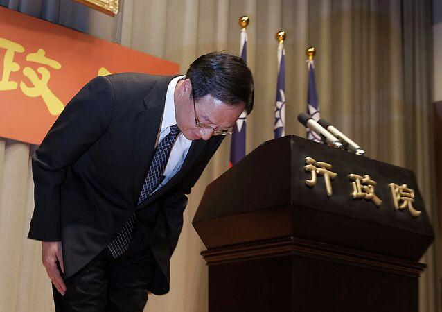 Taiwan Premier Jiang Yi-huah