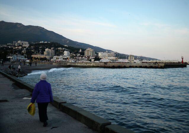 Russian cities. Yalta