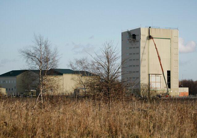 The Kaliningrad radar (SAR) Voronezh-DM station of the Air and Space Defense (ASD) in the Kaliningrad region.
