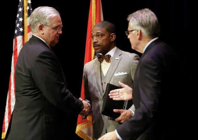 Jay Nixon, Rev. Starsky Wilson, Rich McClure