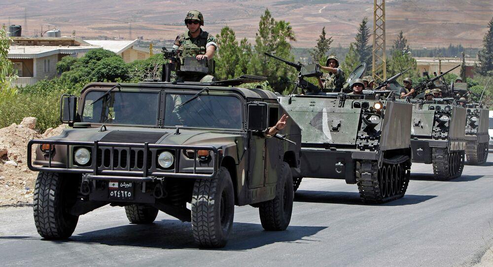 Lebanese army reinforcements