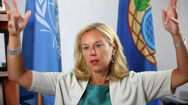 Sigrid Kaag, special coordinator of the Organisation for the Prohibition of Chemical Weapons (OPCW) - Sputnik International