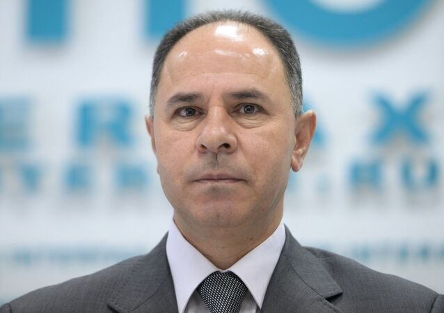 News conference by Palestinian Ambassador to Russia Fayed Mustafa