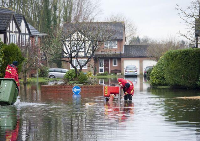 Flood in Britain