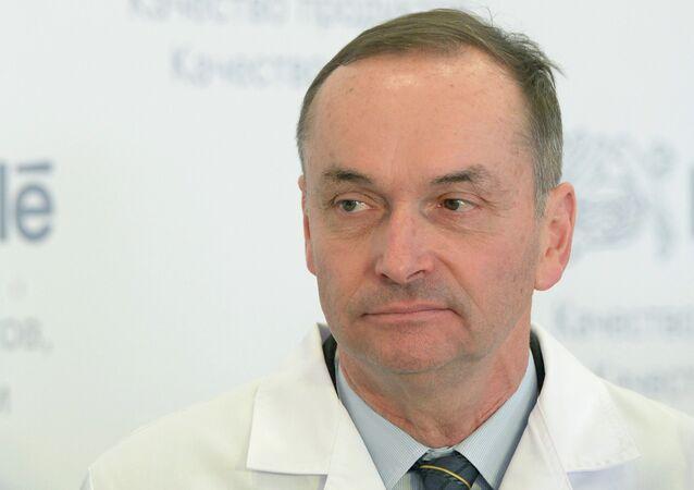 Swiss Ambassador to Russia Pierre Helg