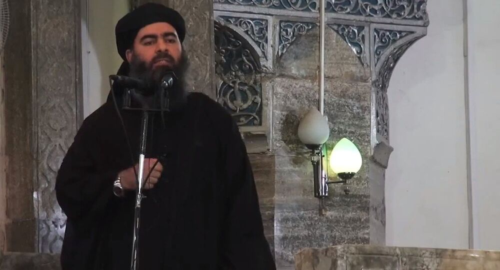 Leader of the militant Islamic State Abu Bakr al-Baghdadi. (File)