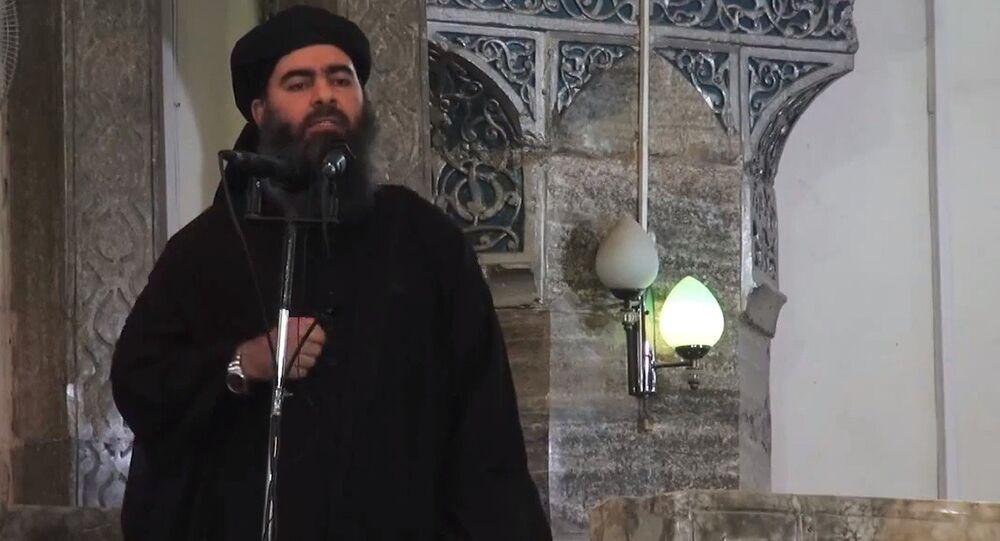 Leader of the militant ISIL Abu Bakr al-Baghdadi. (File)
