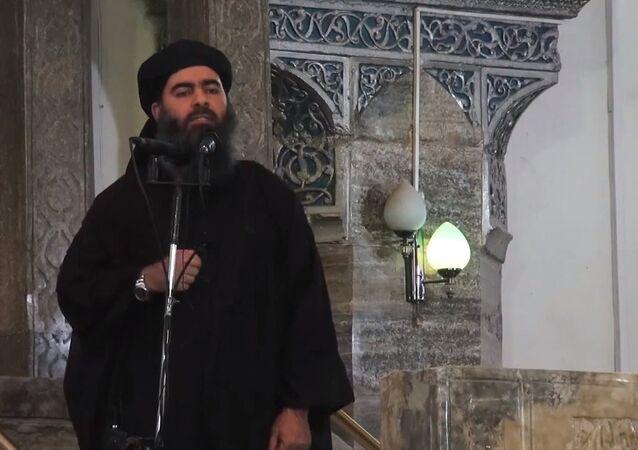 Leader of the militant Islamic State Abu Bakr al-Baghdadi. (File)