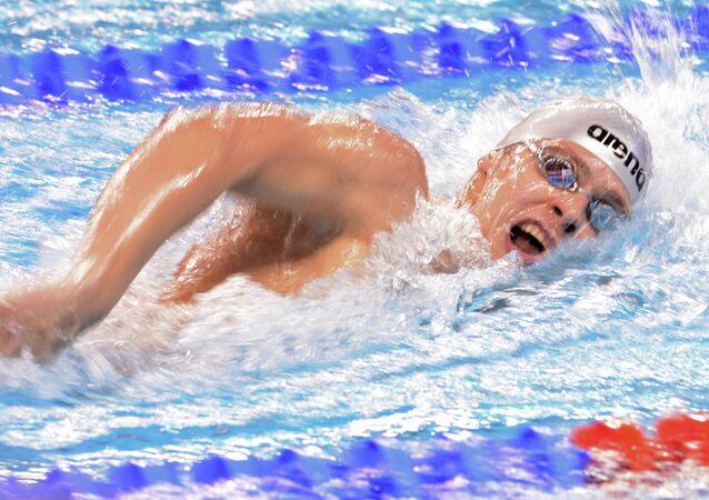 FINA World Swimming Championships (25 m). Day Two