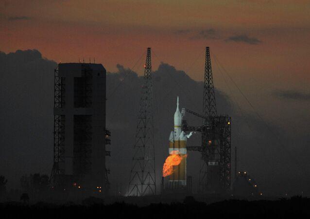 The Delta IV Heavy rocket