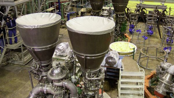 US space technology manufacturer Orbital Sciences Corporation is waiting for the necessary governmental approval for the delivery of Russian designed RD-181 engines, the company's press service said. - Sputnik International