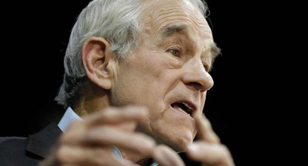 Former U.S. Republican Congressman Ron Paul