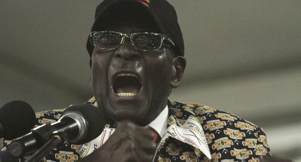 Zimbabwean President, Robert Mugabe