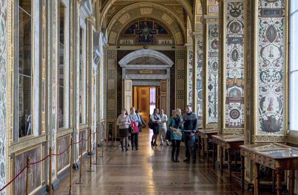 State Hermitage Museum in St.Petersburg