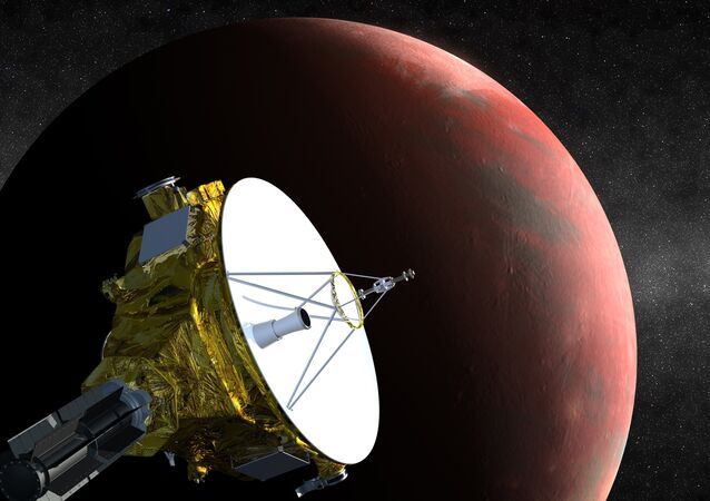 An artist's impression of NASA's New Horizons spacecraft, currently en route to Pluto, is shown in this handout image provided by Science@NASA