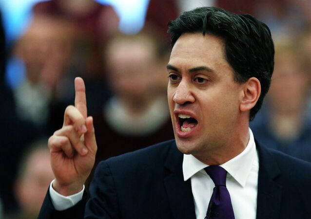 Ed Miliband said the UK labor party would not allow the United Kingdom to exit the EU