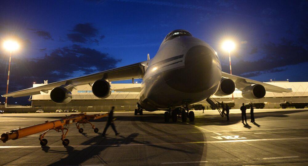An-124-100 Ruslan cargo aircraft