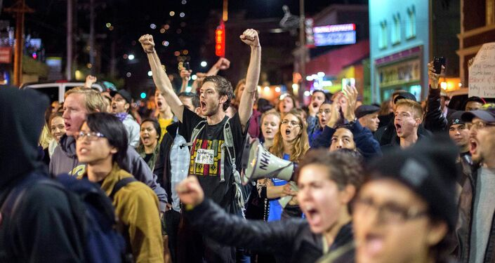 Demonstrations continued in cities across the U.S. for a fourth consecutive night Saturday, after a New York grand jury failed to indict NYPD officer Daniel Pantaleo in the chokehold death of Eric Garner.