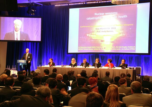 Сonference on the Humanitarian Impact of Nuclear Weapons in Oslo, 2013