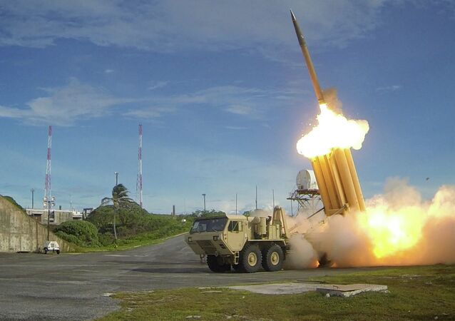 Two Terminal High Altitude Area Defense (THAAD) interceptors are launched during a successful intercept test
